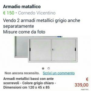 ARMADIO METALLICO